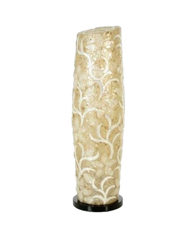 Lampara de sobre mesa Nacar 46639 - Lampara de sobre mesa Nacar 46639, ø18x60 cm