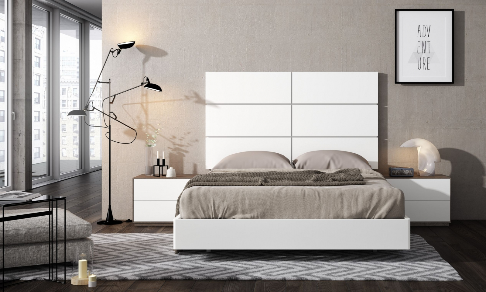 Conjunto de Dormitorio Classic 1.0 04 - Conjunto de Dormitorio Classic 1.0 04