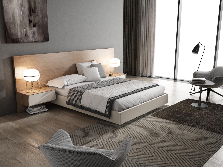 Conjunto de Dormitorio Ilusion Relax Loft+Cube - Conjunto de Dormitorio Ilusion Relax Loft+Cube