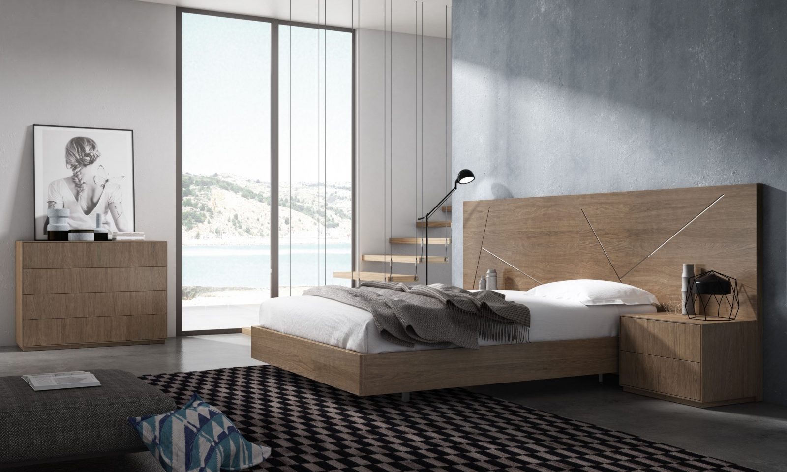 Conjunto de Dormitorio MINIMAL-3 - Conjunto de Dormitorio MINIMAL-3