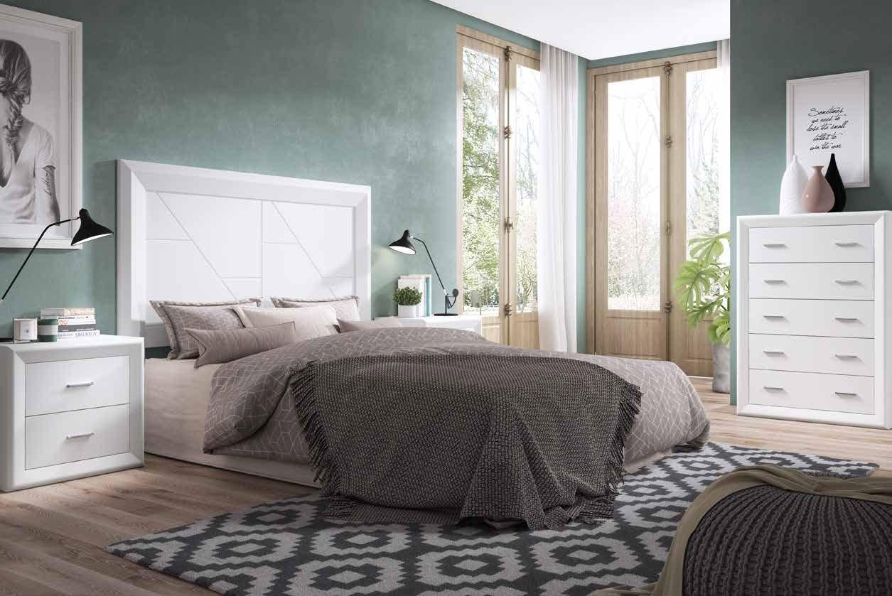 Dormitorio Matrimonial 01 Colección Olga