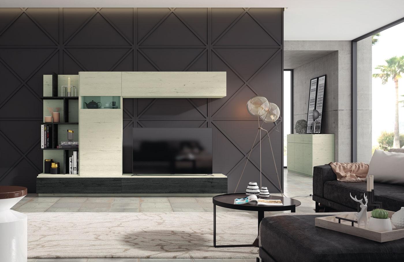 Salón Moderno colección EXO. Composición 20 - Salón Moderno colección EXO. Composición 20