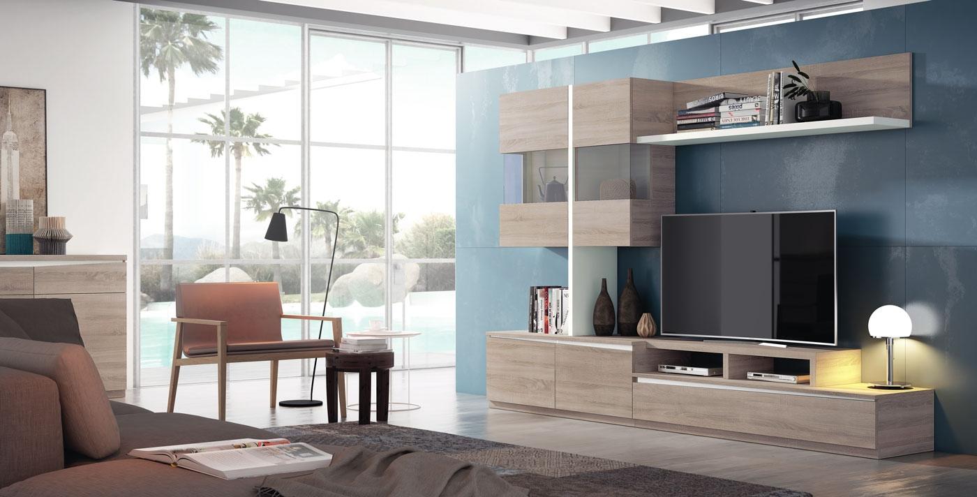 Salón Moderno colección Pulsar. Composición 9 - Salón Moderno colección Pulsar. Composición 9