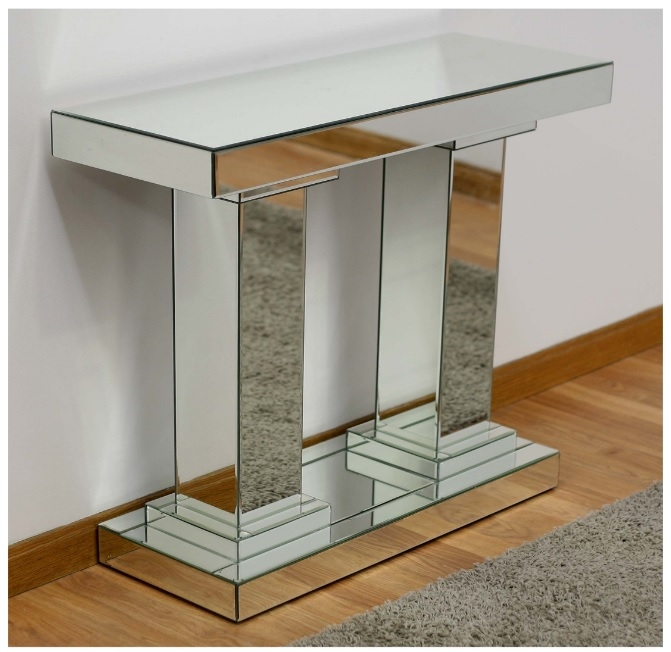 Consola de espejo - Consola de espejo Mimik para entrada