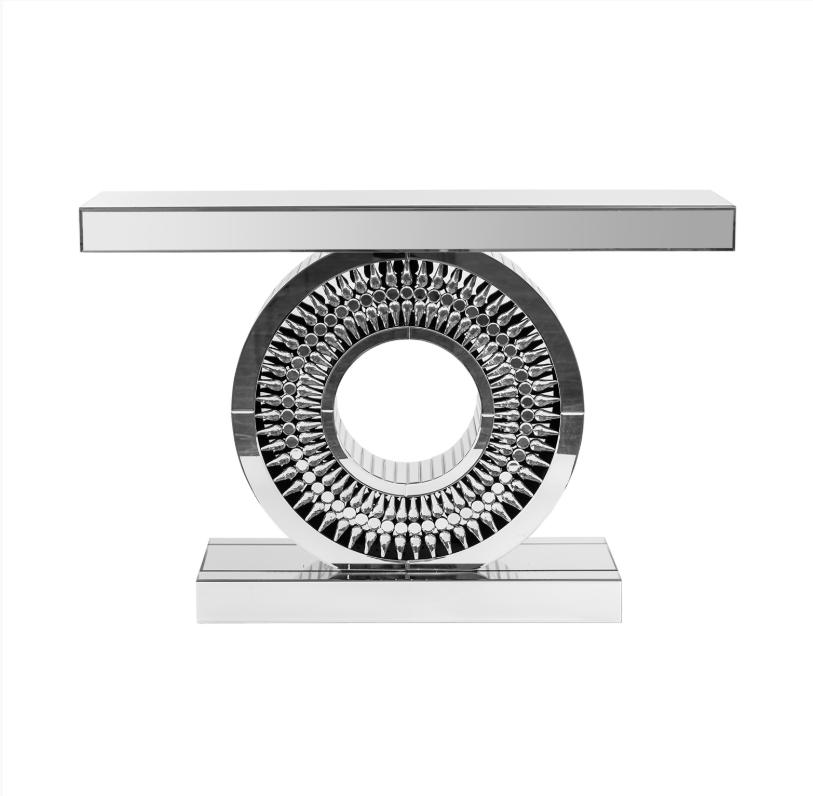 Consola Lagrimas moderna - Consola Lágrimas con estructura DM y de espejos.