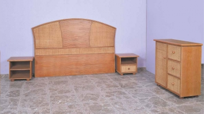 Dormitorio de ratan Modelo 956