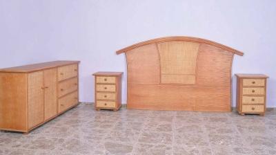 Dormitorio de ratan Modelo 962