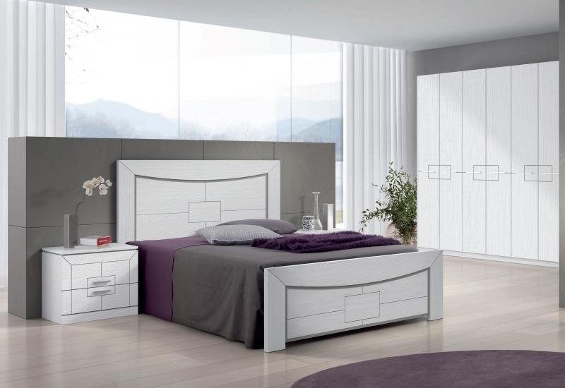 Dormitorio Agata  - Dormitorio Agata, fabricado en melamina barnizada o lacada