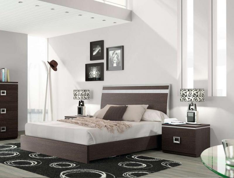 Dormitorio Carla - Dormitorio Carla, fabricado en melamina barnizada o lacada