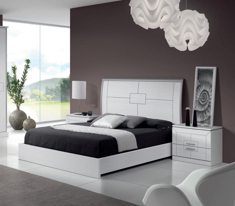 Dormitorio Claudia - Dormitorio Claudia, fabricado en melamina barnizada o lacada