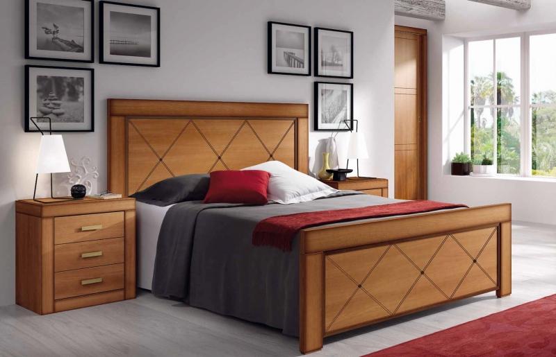 Dormitorio Esmeralda - Dormitorio Esmeralda, fabricado en melamina barnizada