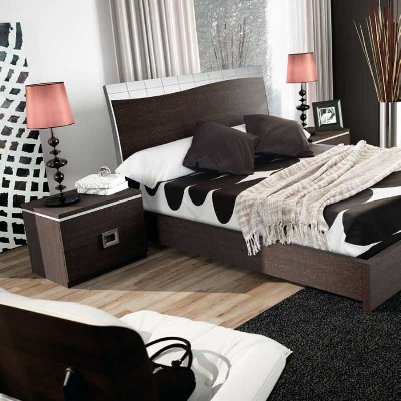 Dormitorio Florida - Dormitorio Florida, fabricado en melamina barnizada o lacada