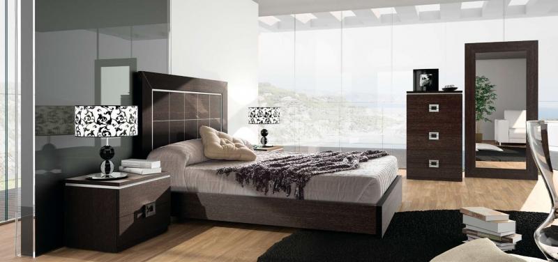 Dormitorio Rosana - Dormitorio Rosana, fabricado en melamina barnizada o lacada