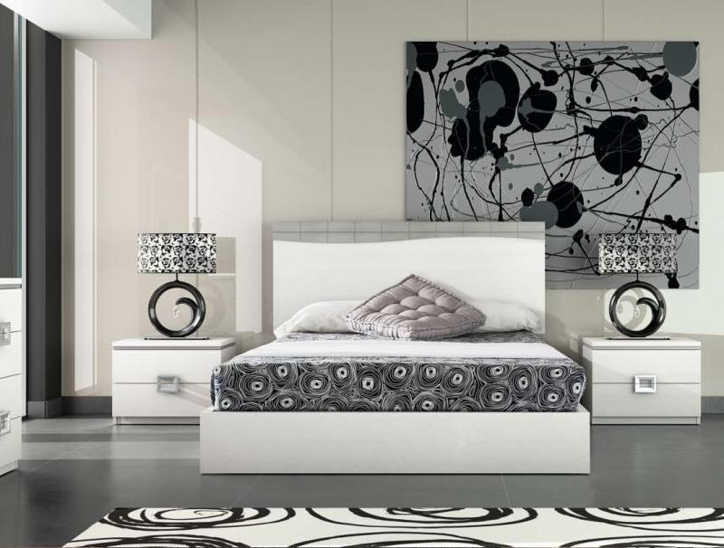 Dormitorio Talia - Dormitorio Talia, fabricado en melamina barnizada o lacada