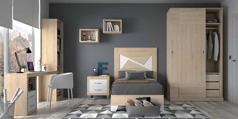 Dormitorio Mountain New Dicle composición 6 - Dormitorio Mountain New Dicle composición 6,  fabricado con melaminas de alta calidad