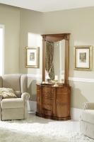 Recibidor de clasico con espejo - Sillón de diseño