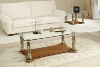 Mesa baja de estilo clásico -