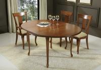 Mesa de diseño clásico extensible