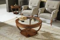 Mesa baja redonda - Mesa de diseño
