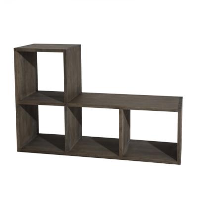 ESTANTERÍA 4H MARIUS  - Estantería,  fabricación en madera hevea