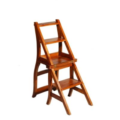 SILLA ESCALERA API  - Silla escalera, fabricado en madera de teca