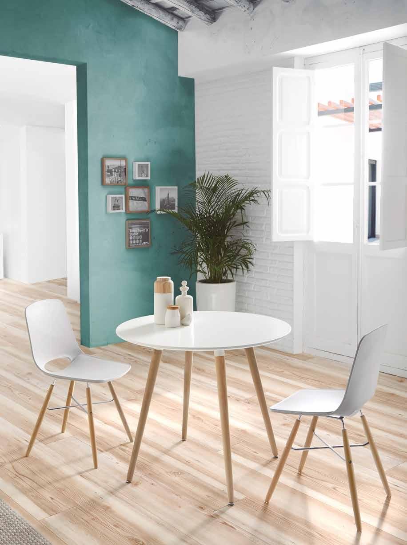 Mesas altas de cocina modernas en varios colores