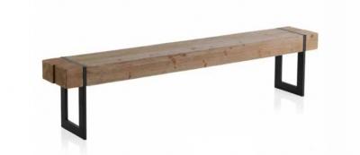 Banco Avi  - Banco Avi en madera y metal