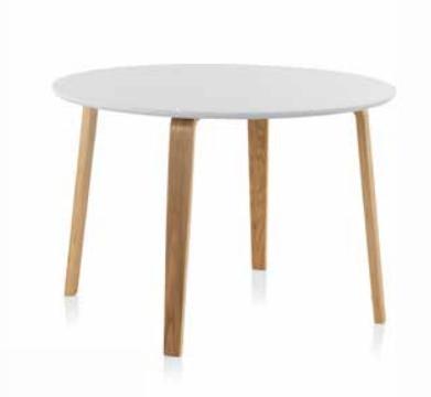 Mesa New redonda  - Mesa comedor New en madera