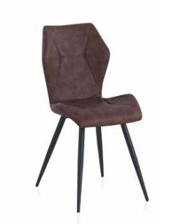 Silla Croi Brown  - Silla Croi Brown en metal