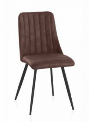 Silla Nut Brown  - Silla Nut Brown en metal