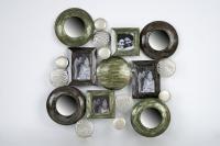 Cuadro decorativo de hierro lacado - Cuadro de diseño