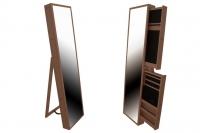 Espejo moderno Joyero Brown - Espejo moderno