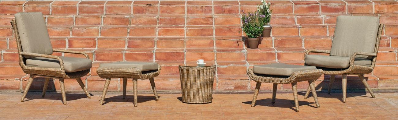 Sofá de exterior Set Aisland 5 - Sofá de exterior Set Aisland 5