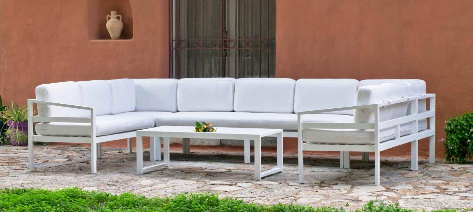 Set Rinconera Athenas 99 - Set Rinconera Athenas 99, se fabrica en una amplia gama de colores: Blanco o Antracita y las tapicerías son también seleccionables en calidad de tejido y color o estampado.