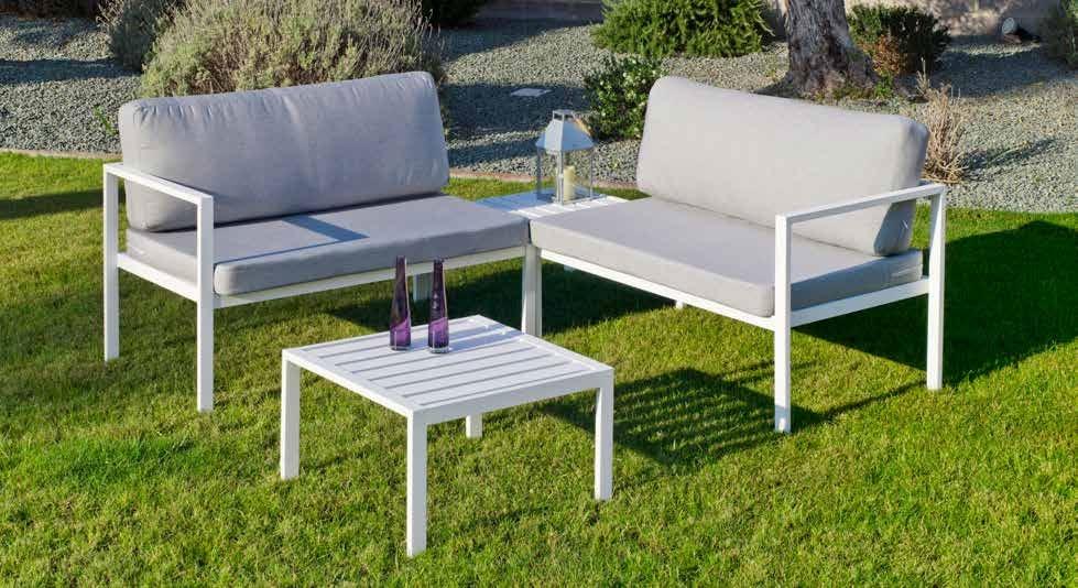 SET RINCONERA MONZA-7 - SET RINCONERA MONZA-7, se fabrica en una amplia gama de colores: Blanco o Antracita y las tapicerías son también seleccionables en calidad de tejido y color o estampado.