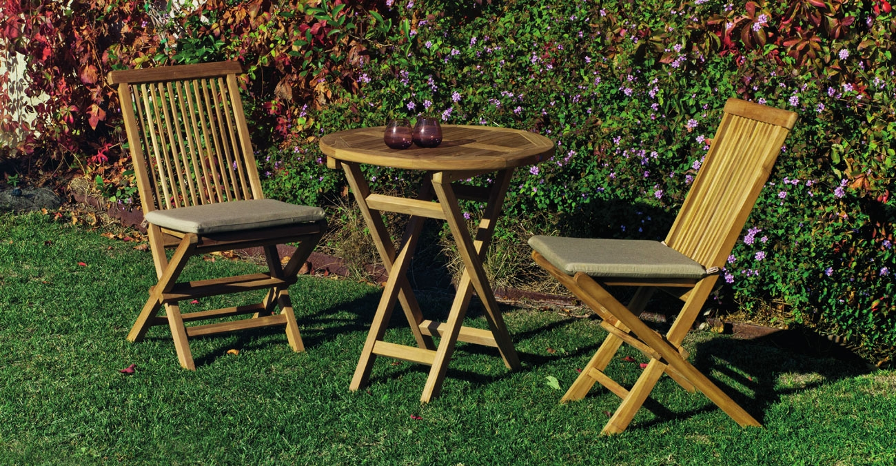 Set sillas y mesa madera Seroni 70 - Set sillas y mesa madera Seroni 70
