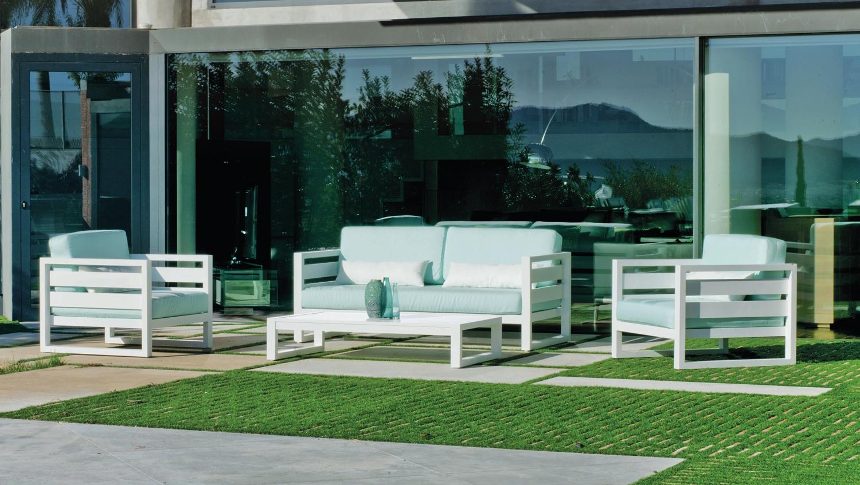 Sofa Cosmos 7 - Sofa Cosmos 7, fabricado en aluminio y tapizados en dralon