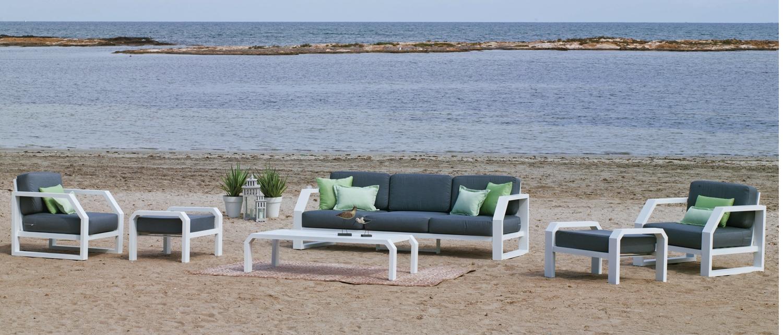 Sofa de lujo para exteriores Zafiro - Sofa de lujo para exteriores Zafiro