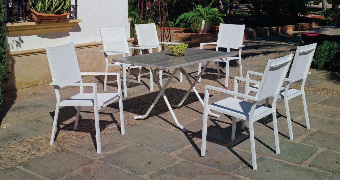 Mesa de comedor ARIAN 1480 ROMA - Mesa de comedor ARIAN 1480 ROMA con tablero Heverzaplus