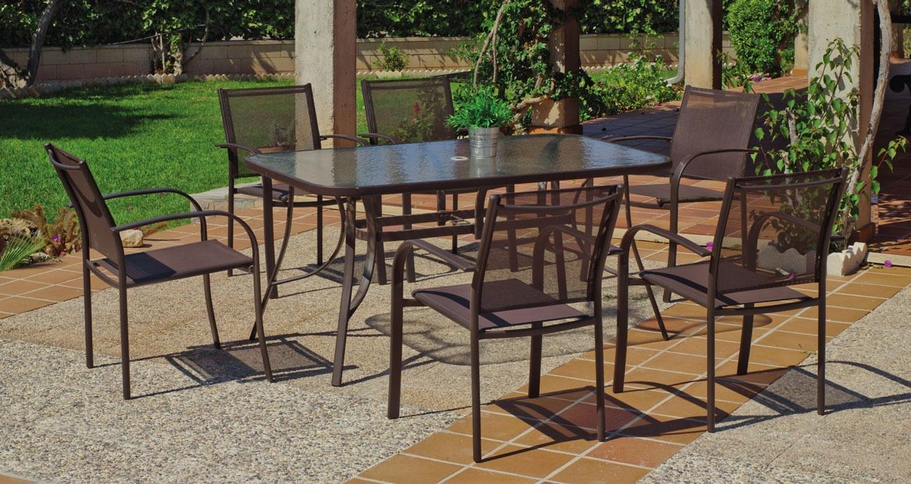 Set sillas y mesa modelo Barcelona 150 - Set sillas y mesa modelo Barcelona 150