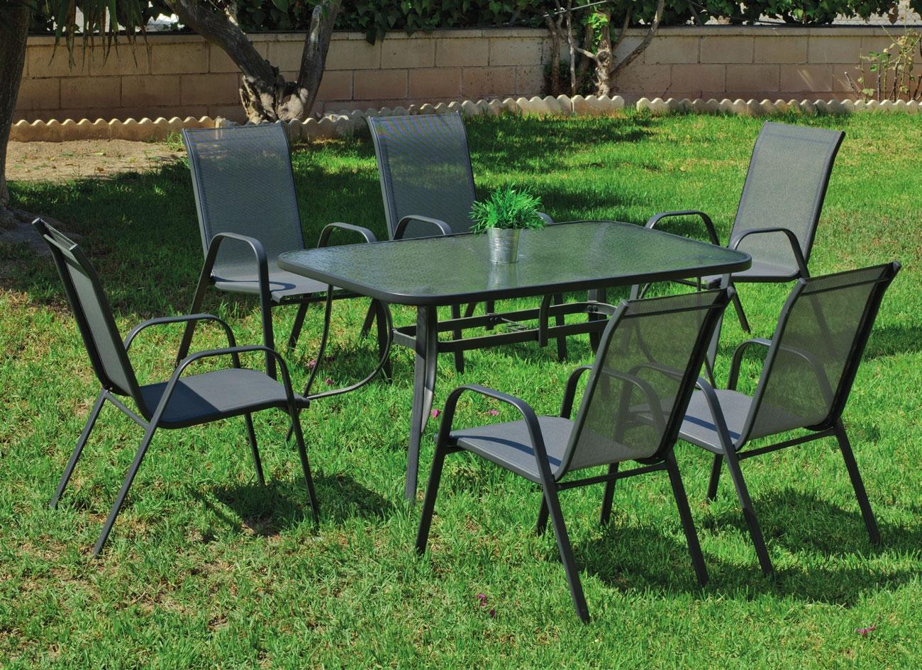 Set sillas y mesa modelo Sulam 150 - Set sillas y mesa modelo Sulam 150