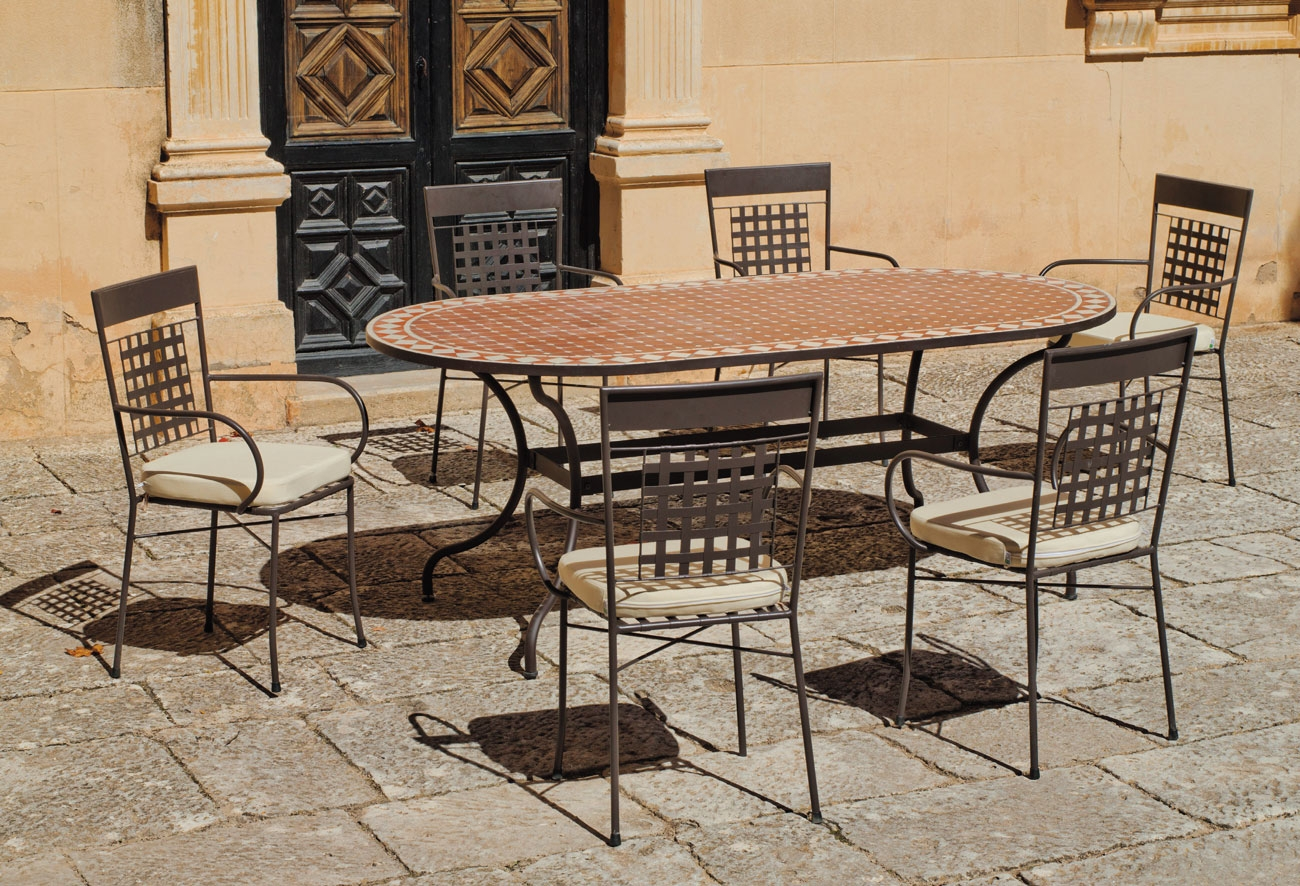 Set sillas o mesa mosaico modelo Altamira/Vigo 200