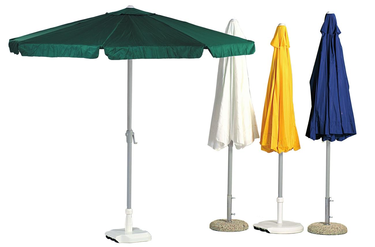 Parasol de aluminio modelo Caracas 300 o 250 - Parasol de aluminio modelo Caracas 300 o 250, gran resistencia y solidez.