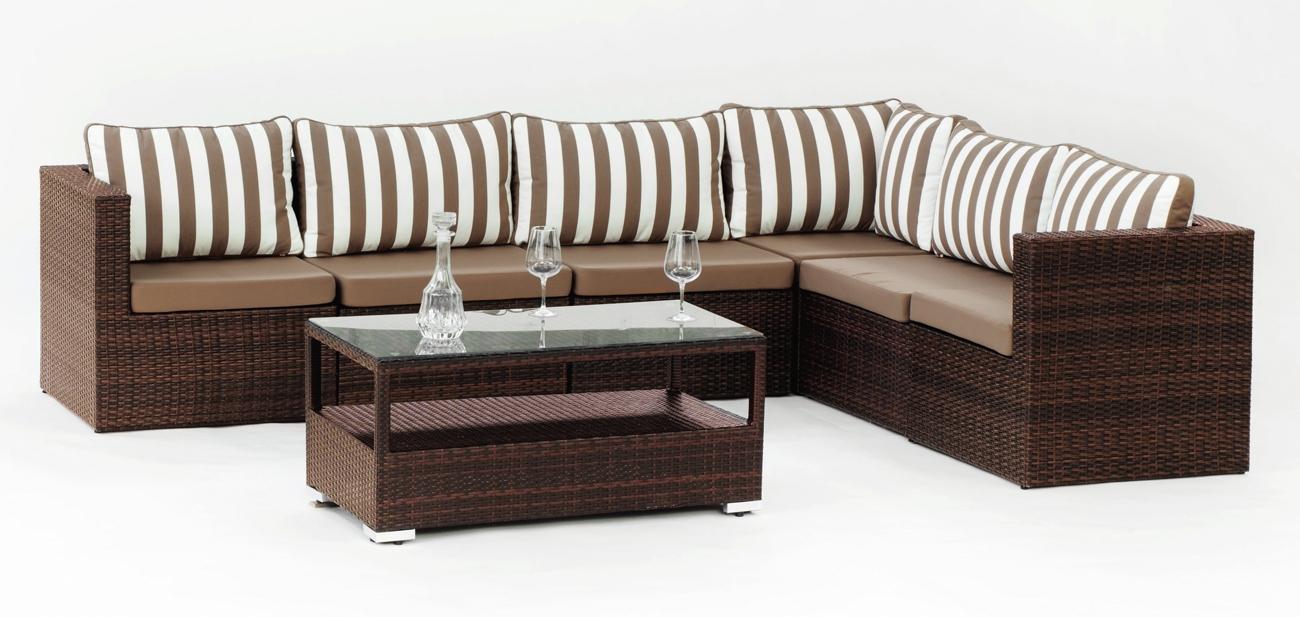 Set muebles de lujo para exteriores Caruno 12 - Set muebles de lujo para exteriores Caruno 12