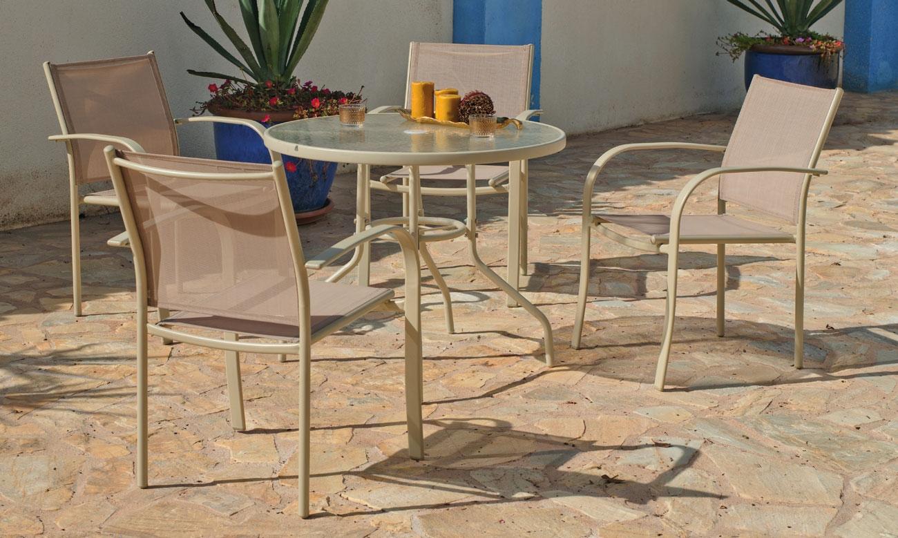 Set sillas y mesa modelo Castilla 90