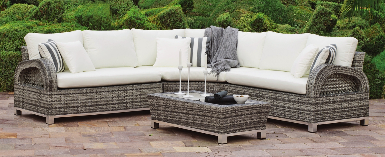 Set muebles de lujo para exteriores Dalas  - Muebles robustos con resistencia garantizada