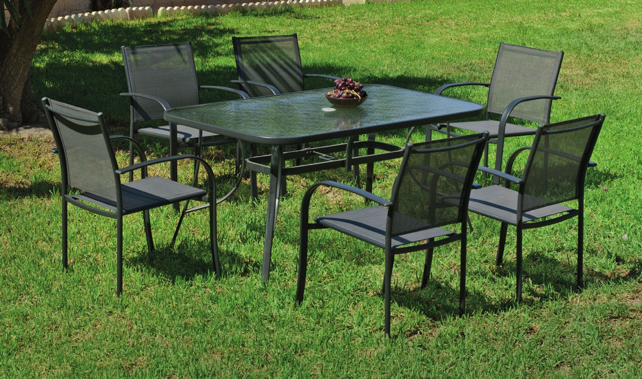 Set sillas y mesa modelo Europa 150 - Set sillas y mesa modelo Europa 150
