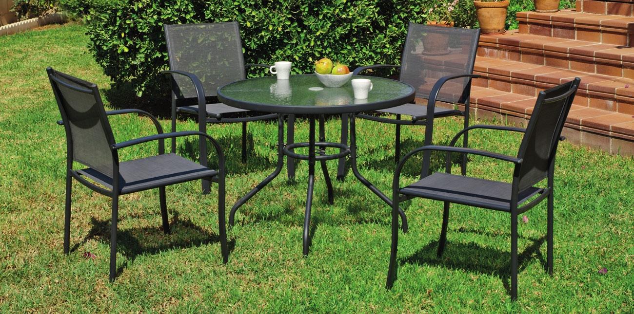 Set sillas y mesa modelo Europa 90 - Set sillas y mesa modelo Europa 90