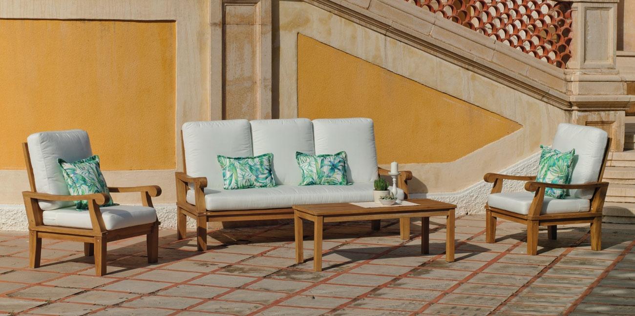 Hevea muebles de terraza y jardin en madrid decoradores for Ofertas muebles terraza
