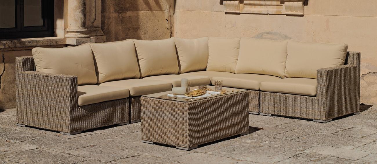 Set muebles de lujo para exteriores Nihara - Set muebles de lujo para exteriores Nihara